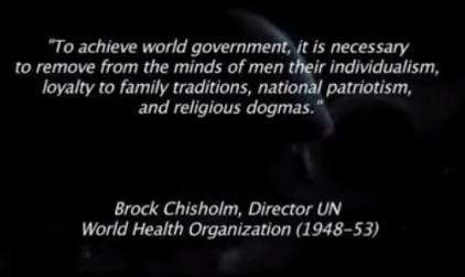 Brock Chisholm, Director UN WHO